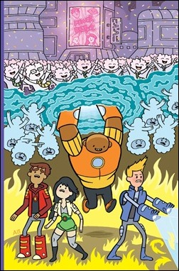 Bravest Warriors #5 Preview 1
