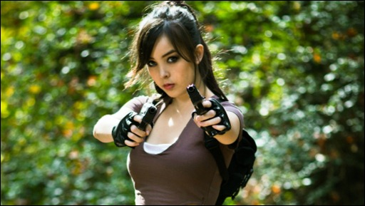 Monika Lee as Lara Croft