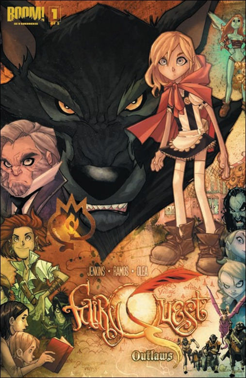 Fairy Quest #1 Cover