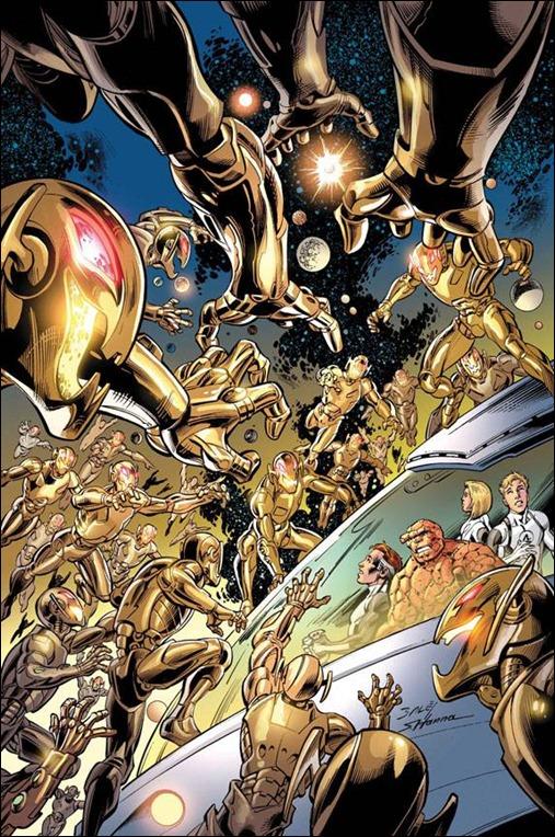Fantastic Four #5AU Cover