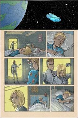 Fantastic Four #5AU Preview 1