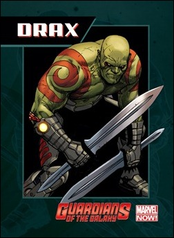 Guardians of the Galaxy Trading Card - Drax