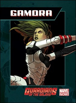 Guardians of the Galaxy Trading Card - Gamora