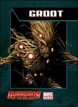 Guardians of the Galaxy Trading Card - Groot