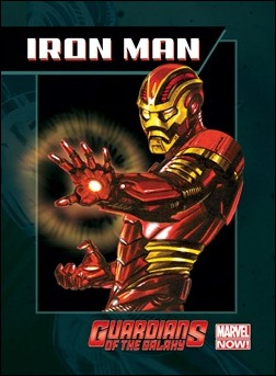 Guardians of the Galaxy Trading Card - Iron Man
