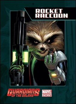 Guardians of the Galaxy Trading Card - Rocket Raccoon