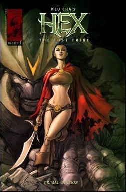 Hex The Lost Tribe #1 Kickstarter Cover - Joe Benitez