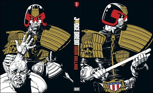 Judge Dredd: The Complete Brian Bolland Deluxe Limited Edition Hardcover