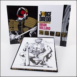 Judge Dredd: The Complete Brian Bolland – Deluxe Limited Edition Hardcover