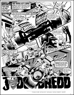 Judge Dredd: The Complete Brian Bolland – Deluxe Limited Edition Hardcover Preview 1