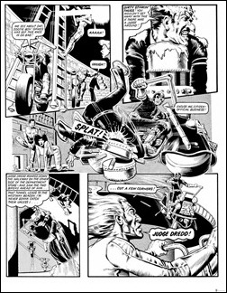 Judge Dredd: The Complete Brian Bolland – Deluxe Limited Edition Hardcover Preview 3