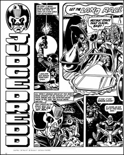 Judge Dredd: The Complete Brian Bolland – Deluxe Limited Edition Hardcover Preview 6