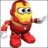 Iron Man Mister Potato Head