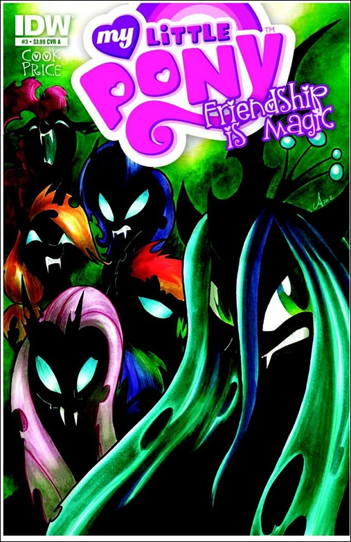 My Little Pony: Friendship is Magic #3 Cover