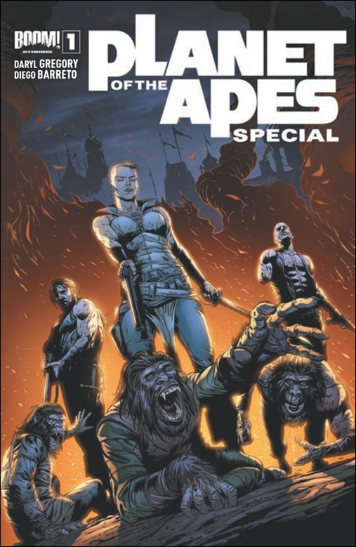 Planet of the Apes Special #1 Cover