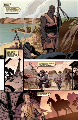 Planet of the Apes Special #1 Preview 3