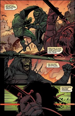 Planet of the Apes Special #1 Preview 5
