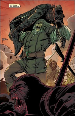 Planet of the Apes Special #1 Preview 6