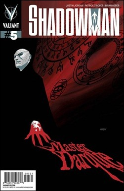 Shadowman #5 Cover - Johnson Variant