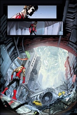 Superior Spider-Man #6AU Preview 1