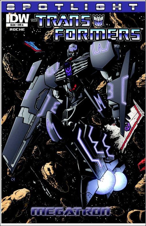 Transformers Spotlight: Megatron Cover