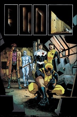 X-Termination #1 Preview 2