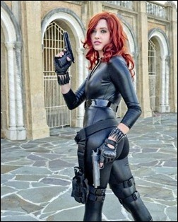 Callie Cosplay - Black Widow
