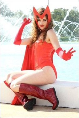 Callie Cosplay - Scarlet Witch