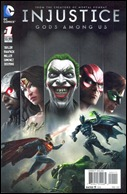 Injustice: Gods Among Us #1 Cover