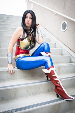 Monika Lee as Wonder Woman