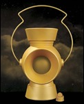 1:1 SCALE YELLOW LANTERN POWER BATTERY AND RING PROP REPLICA