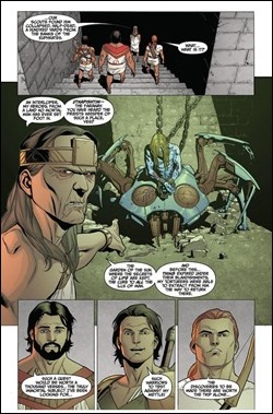 Archer & Armstrong #0 Preview 3
