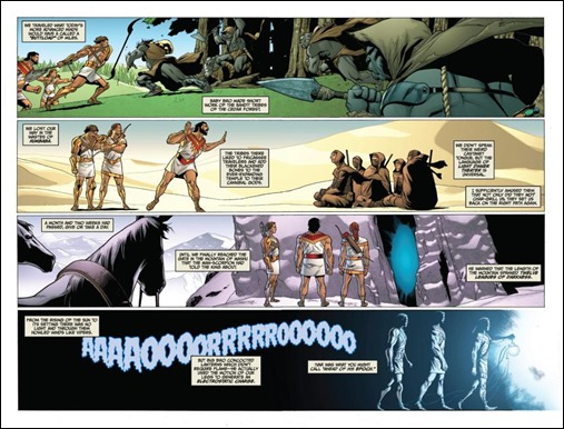 Archer & Armstrong #0 Preview 5