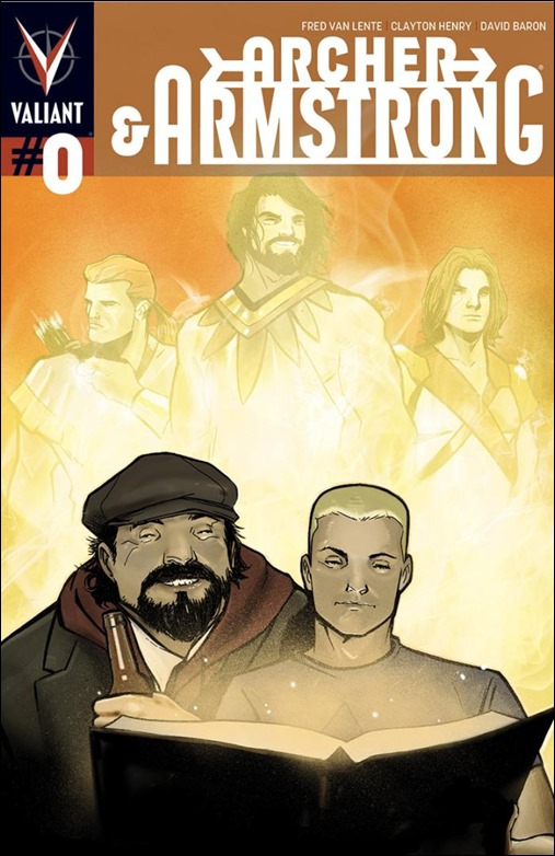 Archer & Armstrong #0 Pullbox Cover - Garbett