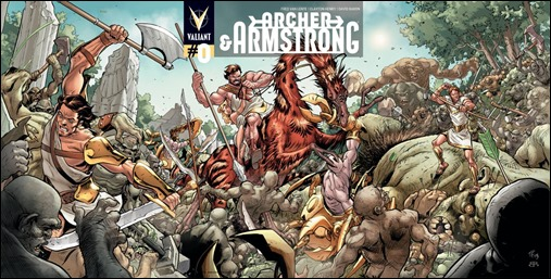 Archer & Armstrong #0 Cover - Fowler Wraparound