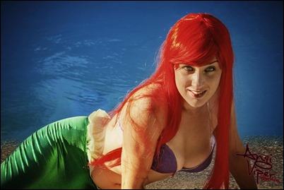 Angi Viper as Ariel
