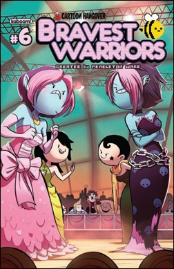 Bravest Warriors #6 Cover