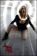 Angi Viper as Black Canary