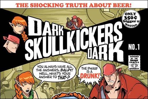 DARK SKULLKICKERS DARK #1