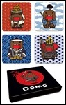 Domo Japanese Coaster Set