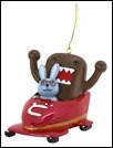 Domo and Friends in Bobsled Ornament