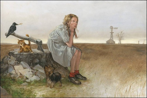 Dorothy Daydreams by Dave Dorman