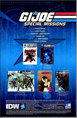G.I. JOE: Special Missions #1 Preview 1