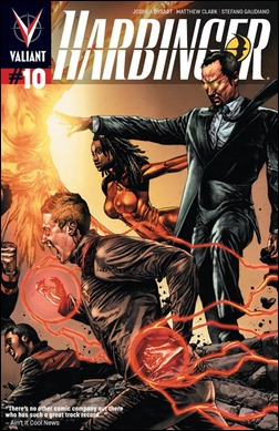 Harbinger #10 Cover