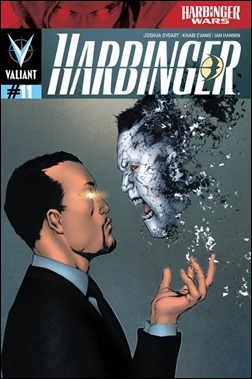 Harbinger #11 Cover - Evans