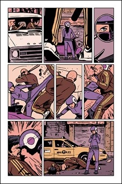 Hawkeye #9 Preview 2