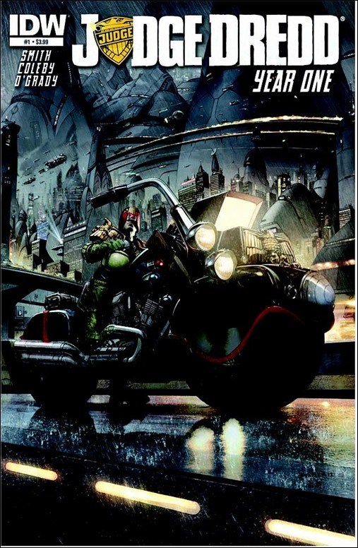 Judge Dredd: Year One #1 Cover