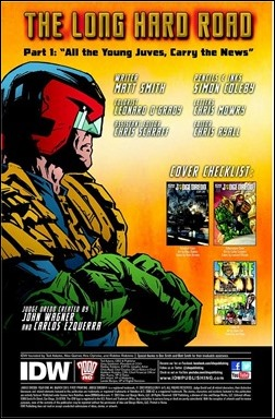 Judge Dredd: Year One #1 Preview 1