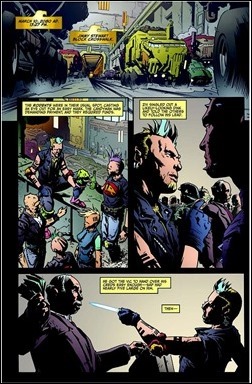 Judge Dredd: Year One #1 Preview 6