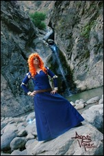 Angi Viper as Merida